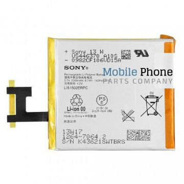 Genuine Sony Xperia Z L36H Battery - Part No: 1264-7064